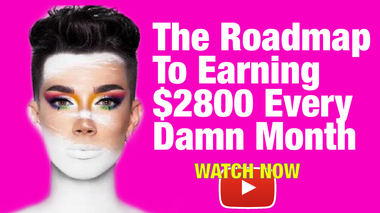 The Roadmap To Earning Online with James Charles Makeup Tutorials